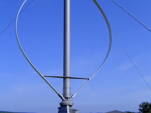 Verticale as windturbine